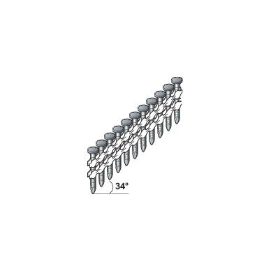 Ankerinės vinys  4.0x40 34°