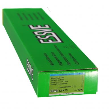 GKP gr. sraigtai 3,5x25 fosfatuoti 3