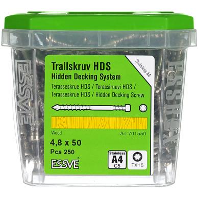 HDS sraigtas terasai 4,8x50 A4 3