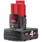M12 B4 | M12™ serijos 4,0 Ah akumuliatorius