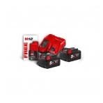 M18 NRG-502 | M18™ NRG komplektas + dovana akumuliatorius 12V 2.0Ah