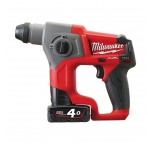 Milwaukee M12 CH-402C | M12 FUEL™ SDS+ akumuliatorinis perforatorius