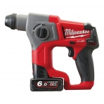 Milwaukee M12 CH-602X | M12 FUEL™ SDS+ akumuliatorinis perforatorius